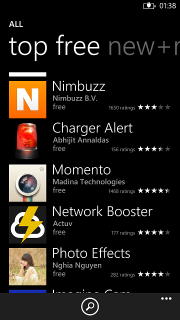 Charger Alert in Top Free apps in the marketplace!